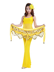 Dancewear Women's Coin Decor Polyester Belly Dance Belts(More Colors)