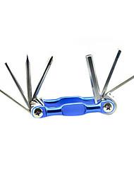 FJQXZ 7-in-1 Multifunktions Blue Bicycle Repaire Umschlagwerkzeug