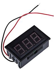 Mini Digital Voltmeter 4.5-30V Red LED Vehicles Motor Voltage Panel Meter