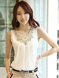 Women's Dress Shirts , Chiffon Casual Liangli
