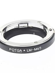 FOTGA LM-M4 / 3 Câmera Digital Lens Adapter / Tubo de Extensão