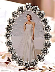 "6""7""Modern European Style Pearl Metal Picture Frame"