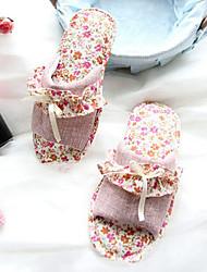 Fashion Purple Flower Women's Slide Slipper