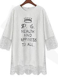 ACD Кружева Fake-Два Причинно Кружева База рубашка (белый)