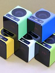 Los Nuevos botones táctiles Mini Altavoz para Laptops/mobilephone/iPod/PC/MP3/MP4 colores opcionales (ZH-5100)