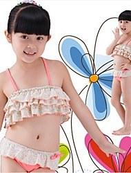 Flower Stampa della ragazza Contryside Style Swimwear