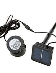 Outdoor Solar Powered Spotlight LED Lampada 6 LED impermeabile Disponibile per il Pool Use (CSS-57358)