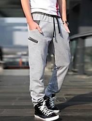 Casual Desportivo moletom longas dos homens calças chinos (string aleatória)
