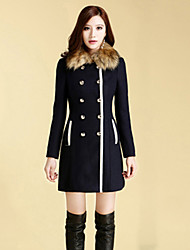 Women's Coats & Jackets , Others/Wool Casual MISSWELL