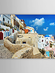 Stretched Canvas Print Art Landscape Part of The Greece
