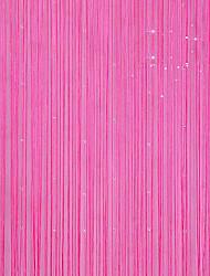 """Klassische Shininy Kristall Fühlen Vorhang Line - drei Farben erhältlich (39 """"W x 78"""" L)"""