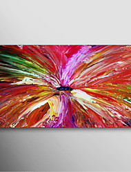 IARTS®Hand Painted Oil Painting Abstract Jet Painting with Stretched Frame Ready to Hang