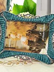 """6 """"7"""" 10 """"Modern European Style Pearl Metal Picture Frame"""