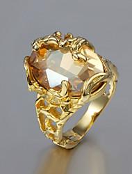 Женский Массивные кольца бижутерия Позолота 18K золото Бижутерия Назначение Свадьба Для вечеринок Повседневные