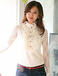 Women's Tops & Blouses , Lace/Others Casual MYZX