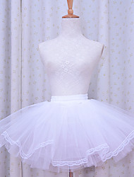 Skirt Classic/Traditional Lolita Lolita Cosplay Lolita Dress Solid Lolita Petticoat For Polyester