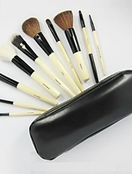 10Pcs Black High-grade Professional Makeup Brush Set