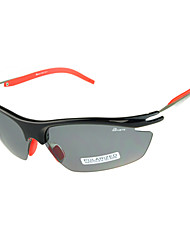 BASTO - Fission Piece Polarized + 4 Pcs Lens Black Frame Cycling Glasses
