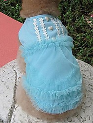 Lace Vest Prinzessin Rock Hundebekleidung