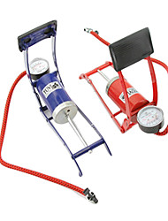 Advanced Single Cylinder Foot Pump Gauge Car Bike Motorbike Inflatables