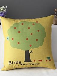 Mignon peint saison de récolte avec une taie d'oreiller attirance Pommier décoratif