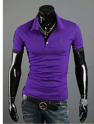 Men's T-Shirts , Cotton Casual Wshgyy