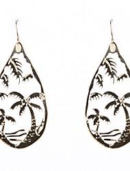 Coconut Tree modello orecchini di goccia