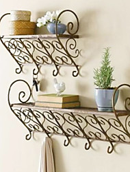 Continental Royal Iron Wall Mounted Shelf
