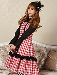Sweet Star Party Lolita Dot Rare Classy Lovely Classy Made Cosplay