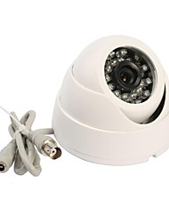 "1/4"" HD Color CMOS  420TVL 24 IR LED Indoor Security Camera"
