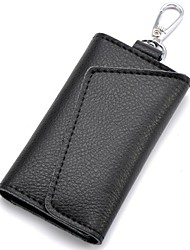 Women's Fashion Genuine Leather Key Wallet