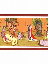 Meian четыре красавицы вышивка крестом