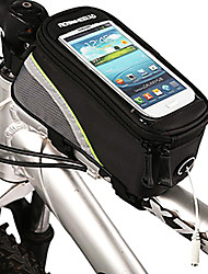 ROSWHEEL Outdoor Bicycle Front Bag with 5.3 Inch Touchable Mobile Phone Screen