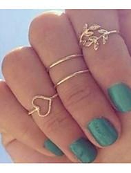 Anéis Femininos Zirconia Coração Europeu