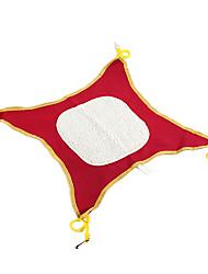 Mignon confortable en forme de carré de toile Hamac pour Animaux Chiens