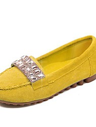 Suede Leather Women's Driving Flat  Slip On Loafers(More Colors)