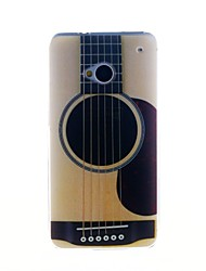 Для Кейс для HTC С узором Кейс для Задняя крышка Кейс для Мультяшная тематика Мягкий TPU HTC