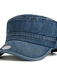 Unisex  Cowboy Washing Flat Hat