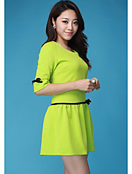 Women's Dresses , Spandex MeiHuang