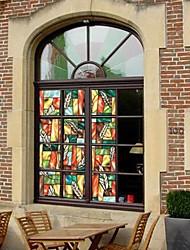 Land Blatt drucken Window Film Fenster-Aufkleber