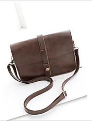 Faux cuir femmes Messenger Bag Pochette