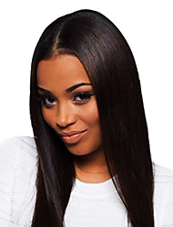 "20"" Queen Hair Products Glueless Brazilian Remy Human Hair Lace Front Wig"