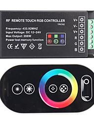 TRC02 РФ Remote Touch RGB контроллер для RGB LED-Black (433,92 МГц 288W DC 12 ~ 24V)