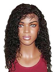 18 pouces Super culry cheveux humains de Remy Lace Front perruque suisse de lacet en Recto Verso est stretch plus de couleurs disponibles