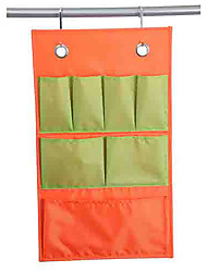 Classic Beautiful Orange and Green Mixed Household Suspending Storage Bag
