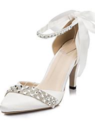 Women's Wedding Shoes Heels Heels Wedding/Party & Evening Black/Blue/Purple/Red/Ivory/White