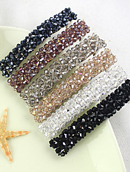Crystal Hair Bands Haarnadel Side geknüpft Clip