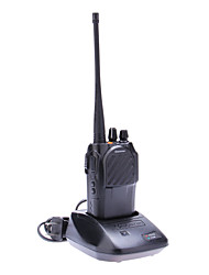 Walkie Talkie 66-246/300-520MHz VHF / UHF 128CH Wireless Radio de dos vías portable
