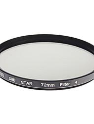 ZOMEI Camera ottici professionali cornice Stelle 4 Filter (72 millimetri)
