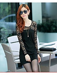 Women's Lace / Sexy Dress Mini Lace